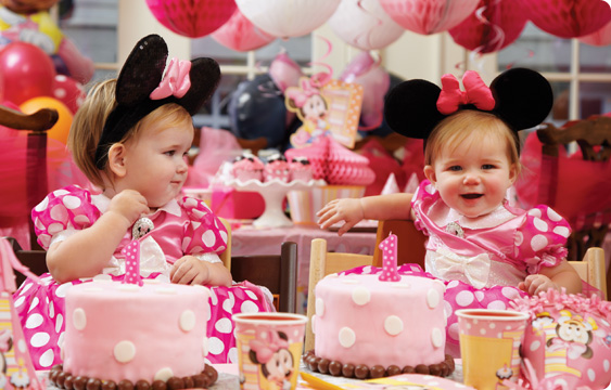 Minnie Mouse 1st Birthday Lifestyle Photos