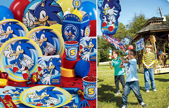 Sonic the hedgehog party supplies birthdayexpress com