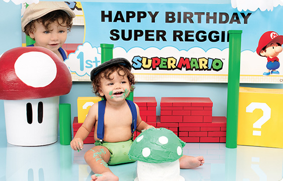 Super Mario Babies Party Lifestyle Photos