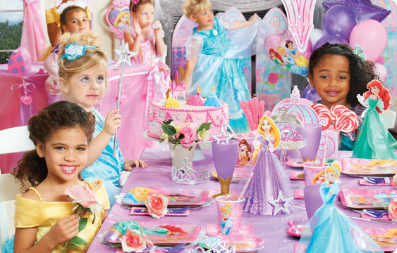 Disney Very Important Princess Dream Party Lifestyle Photos