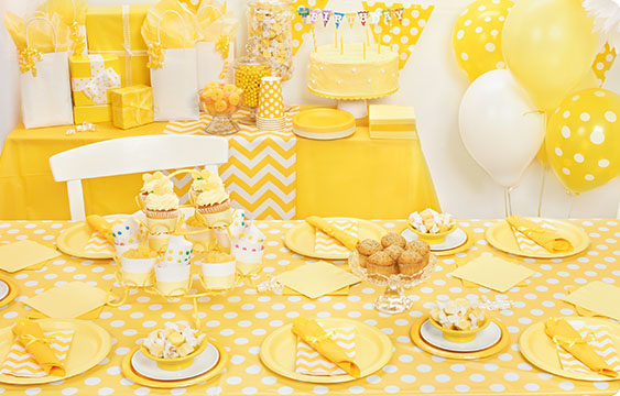 Yellow Chevron Lifestyle Photos