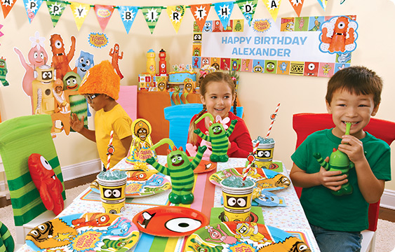 Yo Gabba Gabba Party Supplies BirthdayExpresscom