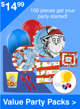 Value Party Packs - Starting at $14.97