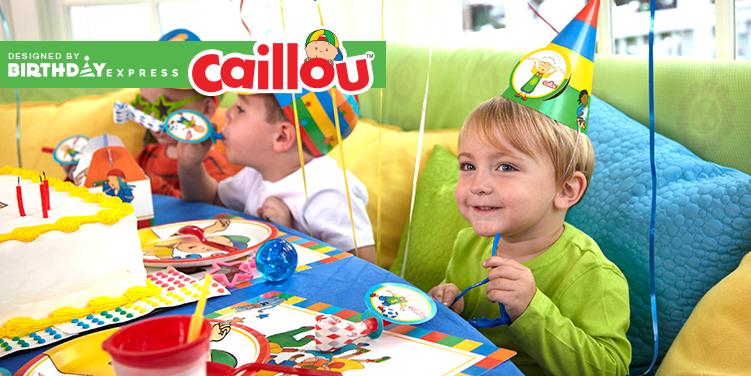 Caillou Party Supplies