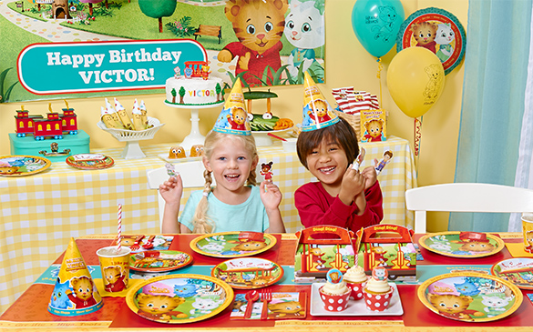 Daniel Tiger's Neighborhood Birthday Party