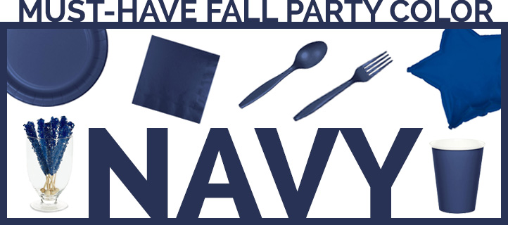 Must-Have Fall Party Color: Navy!