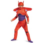 Big Hero 6: Deluxe Boys Toddler Muscle Baymax Costume