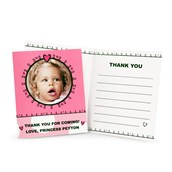 Birthday Princess 1st Personalized - Thank You Notes