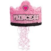 """Birthday Princess Crown 13"""" Pull-String Pinata"""
