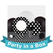 Black and White Dots Party in a Box