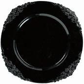 Black Motif Charger