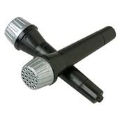 Black Plastic Microphones
