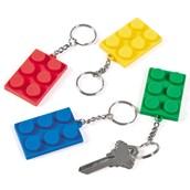 Block Rubber Key Chain (12)
