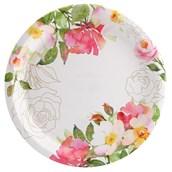 Blooming Elegance Roses Dinner Plate (8)