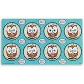 Blue Owl Small Lollipop Sticker Sheet