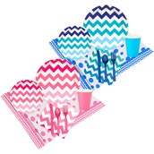 Boy or Girl Chevron Party Pack (16)