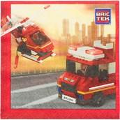 Bric Tek Firefighter Luncheon Napkins (1