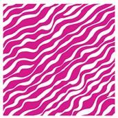 Bright Pink Zebra Jumbo Gift Wrap