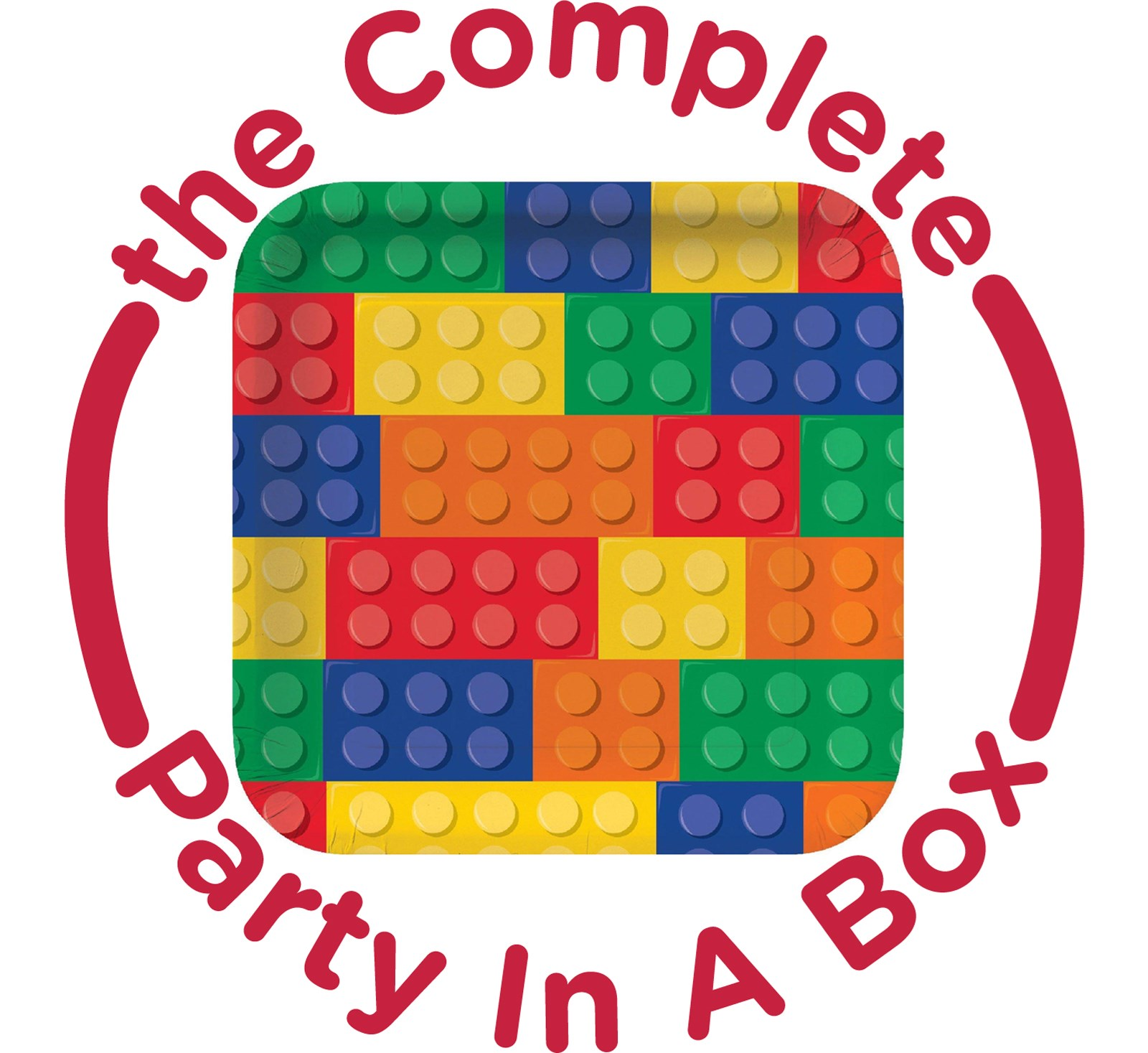 Building Block Party in a Box - Basic - 8 Guests