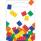 Building Block Party Treat Bags