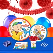 Caillou 16 Guest Tableware & Deco Kit