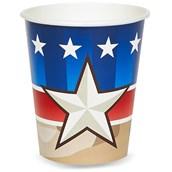 Camo Army Soldier 9 oz. Cups
