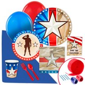 Camo Army Soldier Value Party Pack