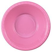 Candy Pink (Hot Pink) Plastic Bowls