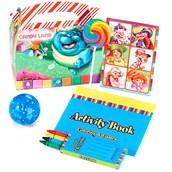 Candyland Filled Favor Box (4-Pack)