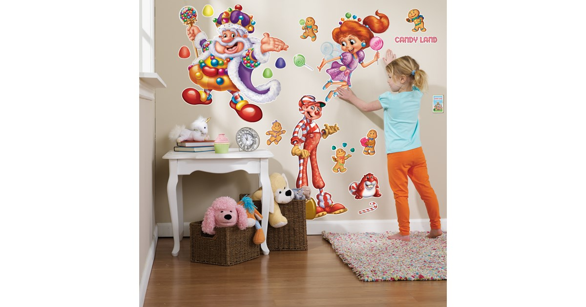 Candyland giant wall decals for Candy wall mural