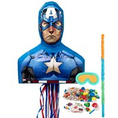 Captain America 3D Pinata Kit