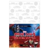 Captain America Civil War Plastic Tablecover