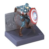 Captain America Spin and Fight Cake Topper (2 Pieces)