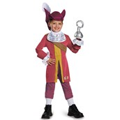 Captain Jake and the Never Land Pirates: Deluxe Captain Hook Costume For Boys
