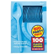 Caribbean Blue Big Party Pack - Spoons