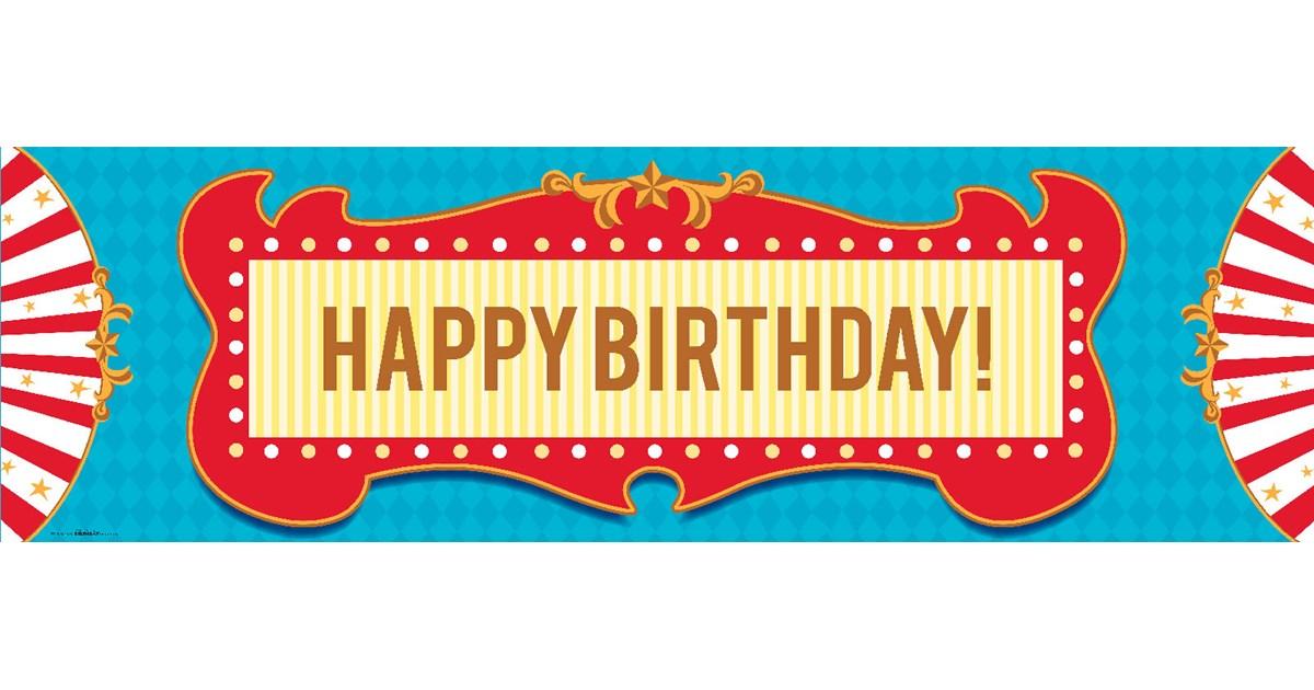 Carnival Games Birthday Banner Birthdayexpress Com