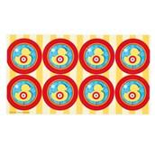 Carnival Games Small Lollipop Sticker Sheet