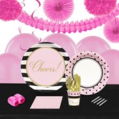 Cheers to You! 16 Guest Tableware & Deco Kit