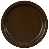Chocolate Brown (Brown) Dinner Plates