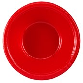 Classic Red (Red) Plastic Bowls