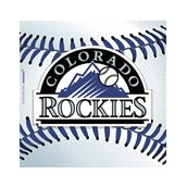 Colorado Rockies Baseball - Beverage Napkins