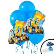 Construction Loader Jumbo Balloon Bouquet