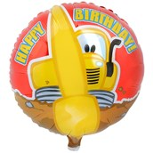 Construction Pals Foil Balloon