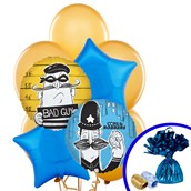 Cops and Robbers Party Balloon Bouquet