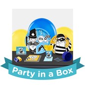 Cops and Robbers Party in a Box For 8