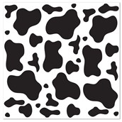 Cow Print Bandana