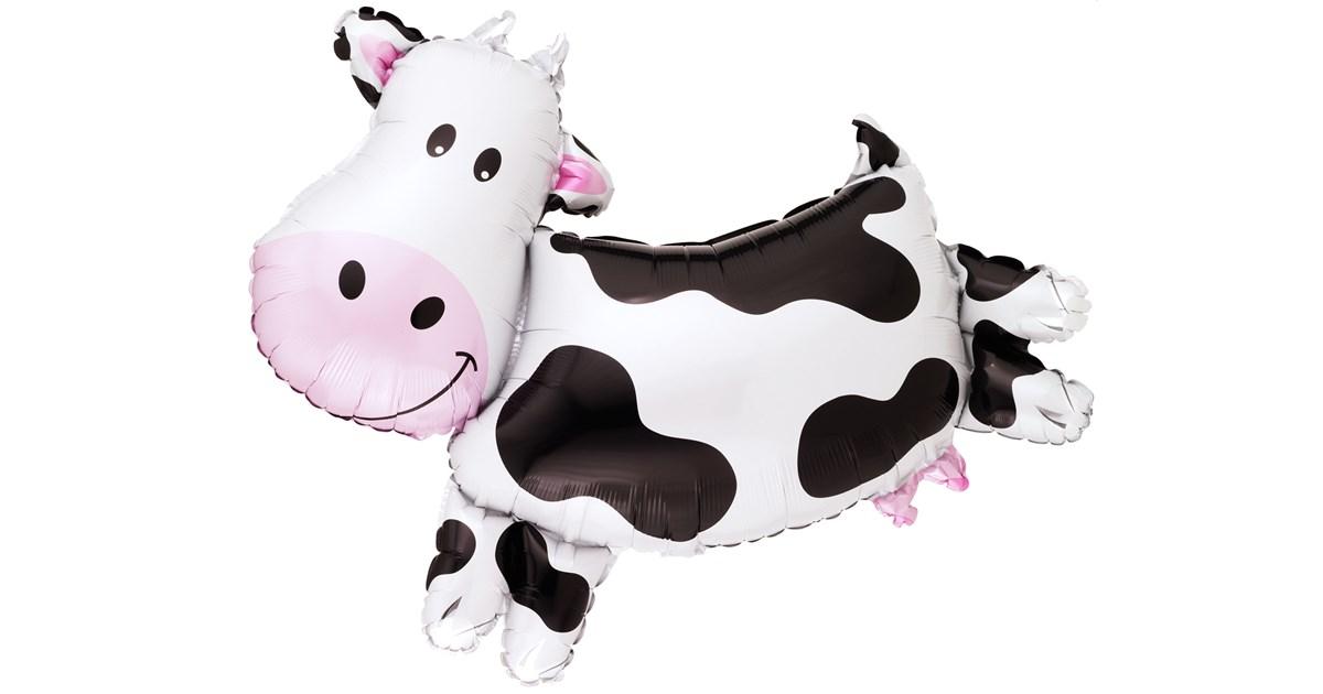 Cow Shaped Jumbo Foil Balloon Birthdayexpress Com