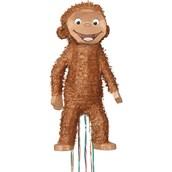Curious George 3D Pull String Pinata