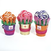 D.I.Y. Owl Blossom Favor Buckets