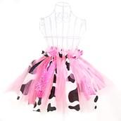 D.I.Y. Pink Cowgirl Tutu Favor